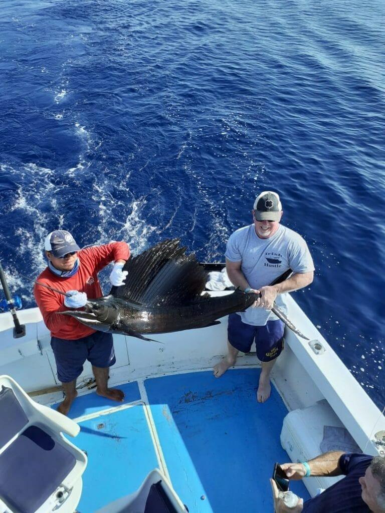 fishing in nuevo vallarta mexcio for sailfish